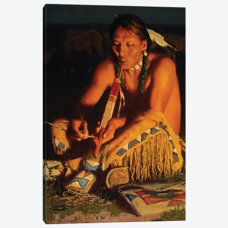 Kiowa Smoke Canvas Print #MNN23} by David Mann Canvas Print