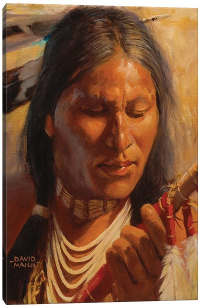 Lakota Spear Canvas Art Print