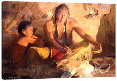 Medicine Lodge Canvas Art Print