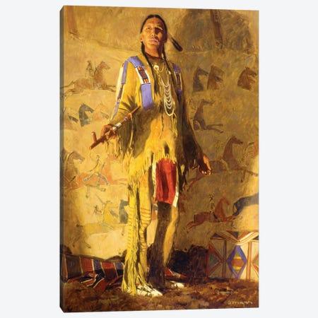 Peace Among The Crow Canvas Print #MNN39} by David Mann Canvas Wall Art