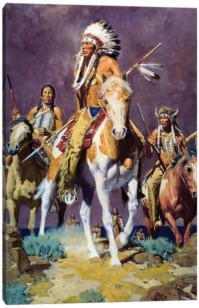 Prairie Storm Canvas Art Print