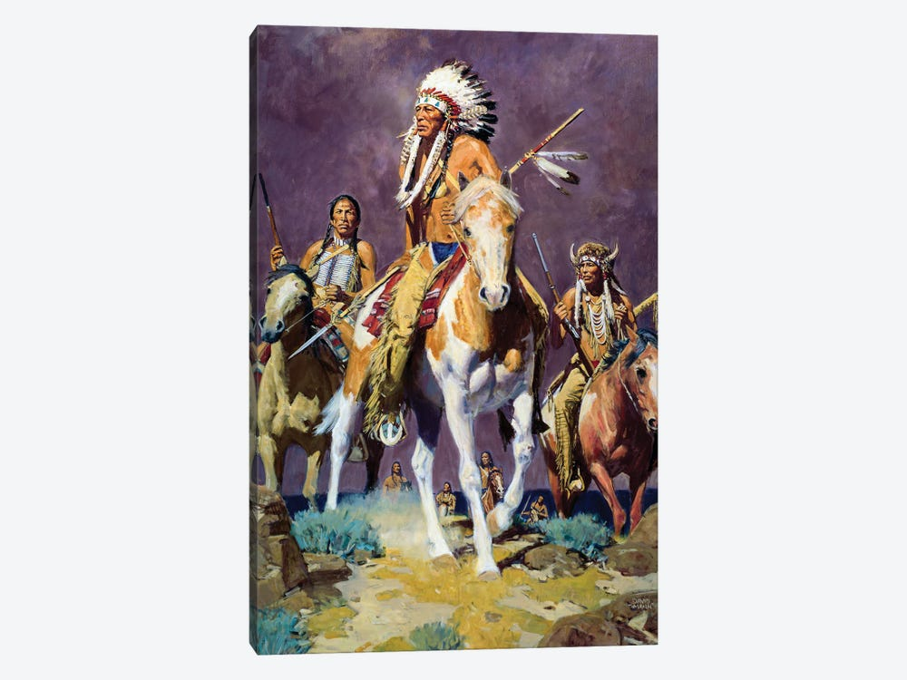 Prairie Storm by David Mann 1-piece Canvas Print