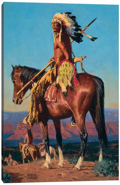 Red Rock Sundown Canvas Art Print