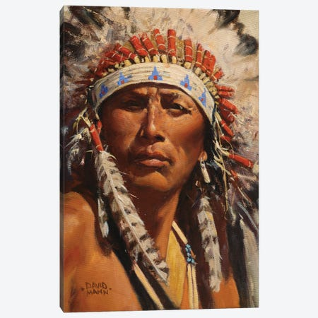 American Spirit Canvas Print #MNN4} by David Mann Canvas Art Print