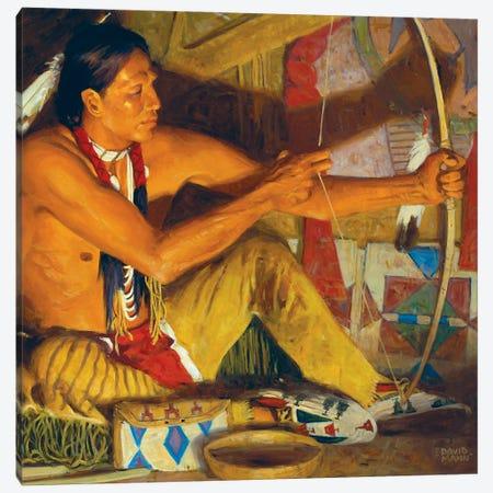 The Osage Orange Bow Canvas Print #MNN57} by David Mann Canvas Art Print