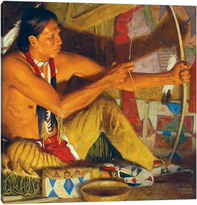The Osage Orange Bow Canvas Art Print