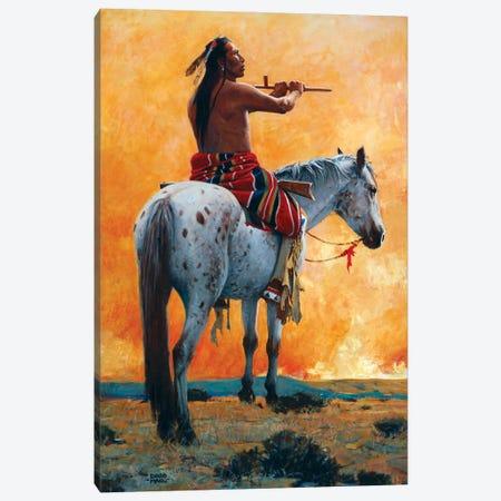 The Sun Vow Canvas Print #MNN62} by David Mann Art Print