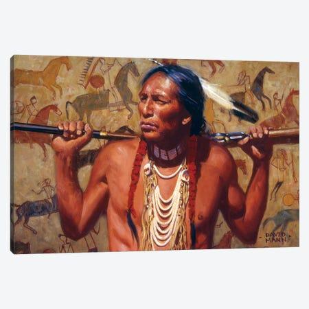 The Veteran Canvas Print #MNN63} by David Mann Canvas Art Print