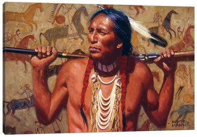 The Veteran Canvas Art Print