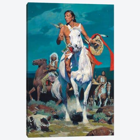 Top Of The Mesa Canvas Print #MNN67} by David Mann Canvas Wall Art