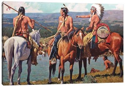 Tribal Wealth Canvas Art Print