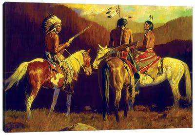Warrior's Autumn Canvas Art Print