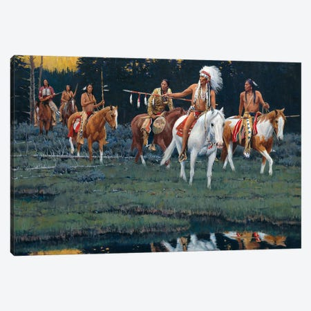 Where Spirits Dwell Canvas Print #MNN72} by David Mann Canvas Wall Art
