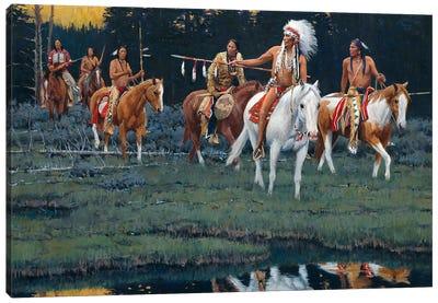 Where Spirits Dwell Canvas Art Print