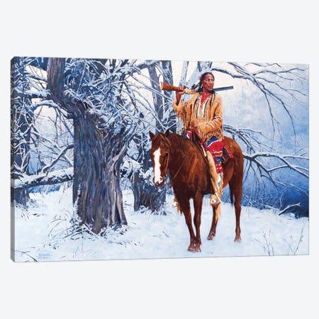 Winter Stillness Canvas Print #MNN77} by David Mann Art Print
