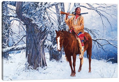 Winter Stillness Canvas Art Print