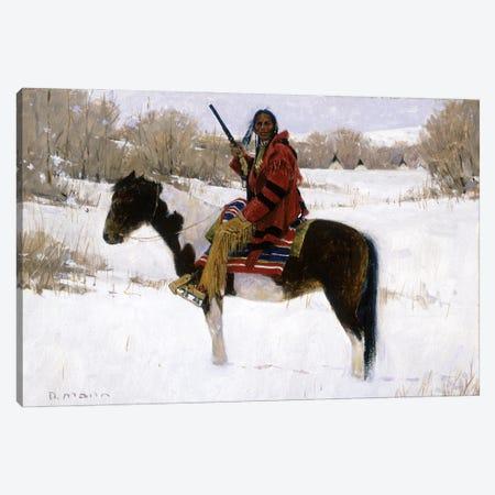 Winter's Whisper Canvas Print #MNN79} by David Mann Canvas Artwork