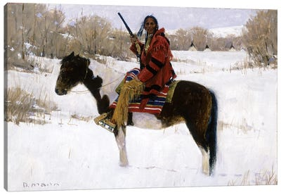 Winter's Whisper Canvas Art Print