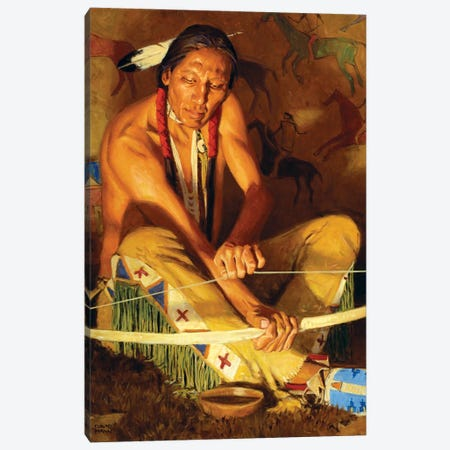 Wood And Sinew Canvas Print #MNN81} by David Mann Canvas Print