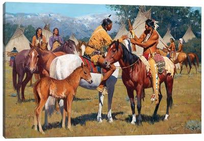 Yellowboy Winchester Canvas Art Print
