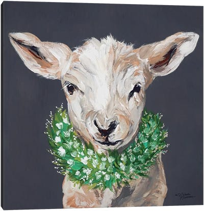 Spring Lamb Canvas Art Print