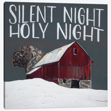 Silent Night Holy Night Canvas Print #MNO47} by Michele Norman Canvas Print