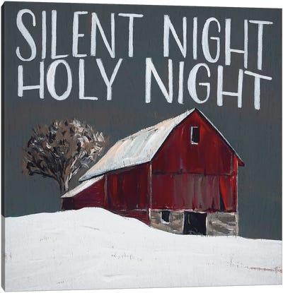Silent Night Holy Night Canvas Art Print