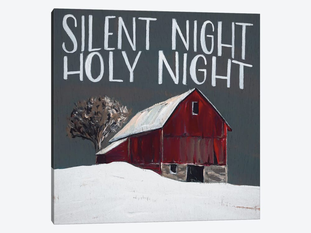 Silent Night Holy Night by Michele Norman 1-piece Canvas Print