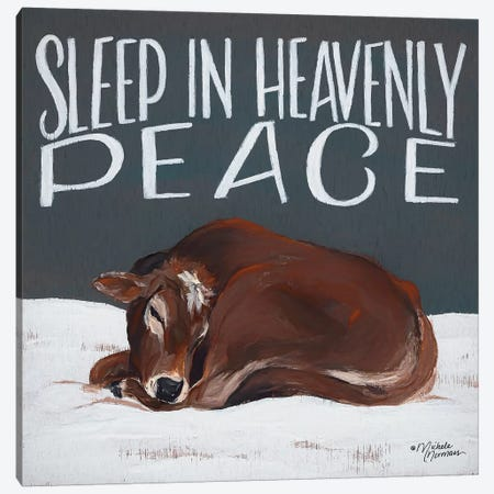 Sleep in Heavenly Peace Canvas Print #MNO48} by Michele Norman Canvas Wall Art