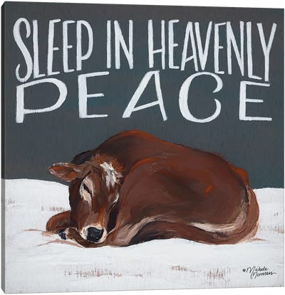 Sleep in Heavenly Peace Canvas Art Print