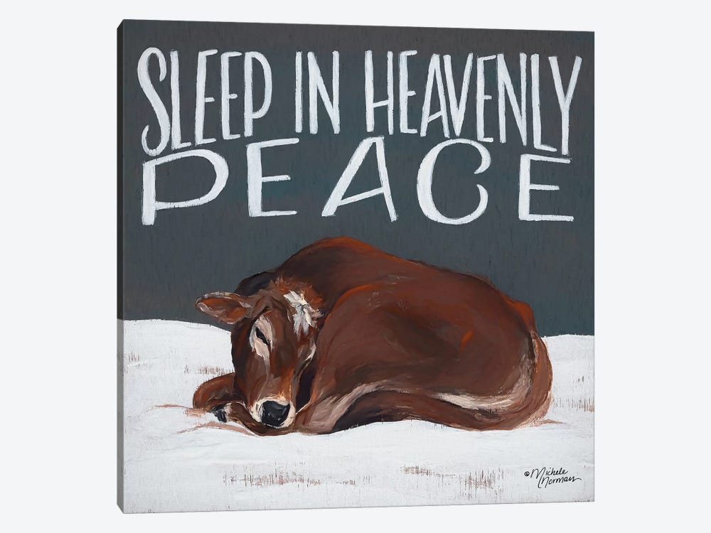 Sleep in Heavenly Peace by Michele Norman 1-piece Canvas Art