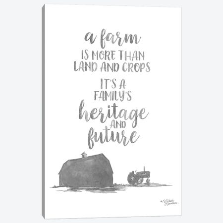 Heritage and Future Canvas Print #MNO57} by Michele Norman Canvas Artwork