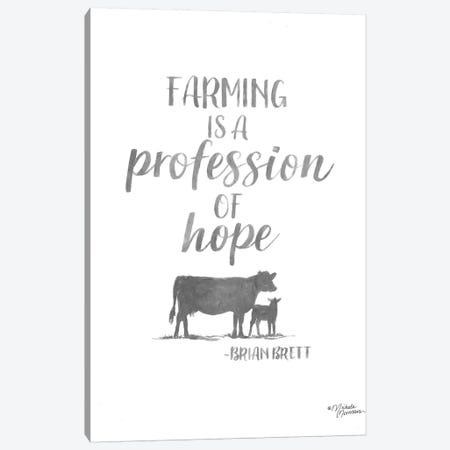 Profession of Hope Canvas Print #MNO63} by Michele Norman Canvas Artwork