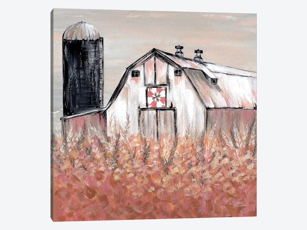Simset Fields by Michele Norman 1-piece Canvas Print