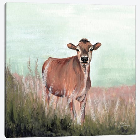 Til the Cow Comes Home Canvas Print #MNO67} by Michele Norman Canvas Print