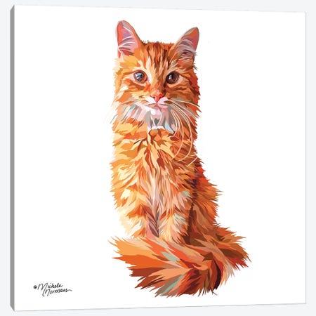 Cat Canvas Print #MNO6} by Michele Norman Canvas Artwork