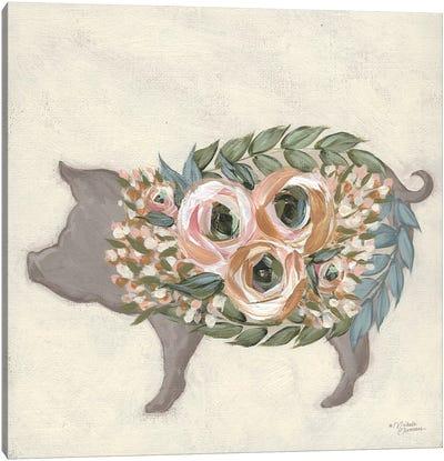 Alice The Pig Canvas Art Print