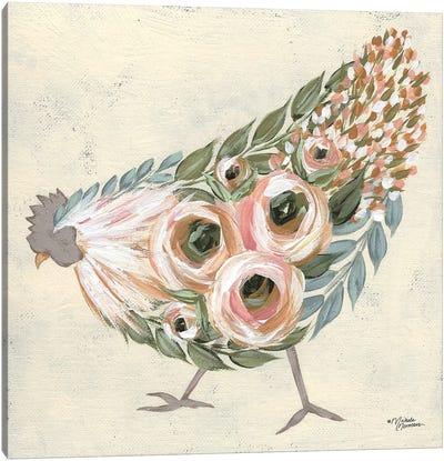 Astrid The Hen Canvas Art Print