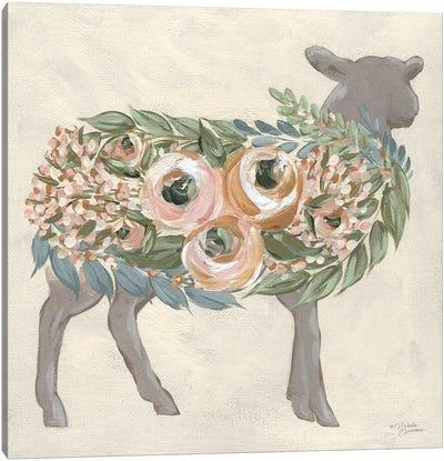 Audrey The Lamb Canvas Art Print