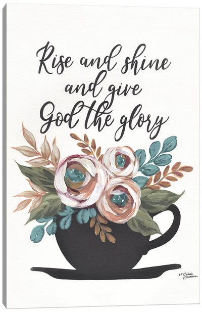 Rise and Shine Canvas Art Print