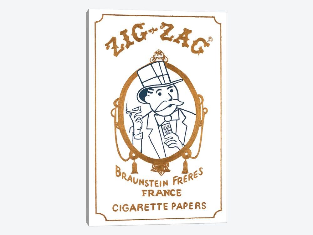 Zig Zag by Sinister Monopoly 1-piece Art Print