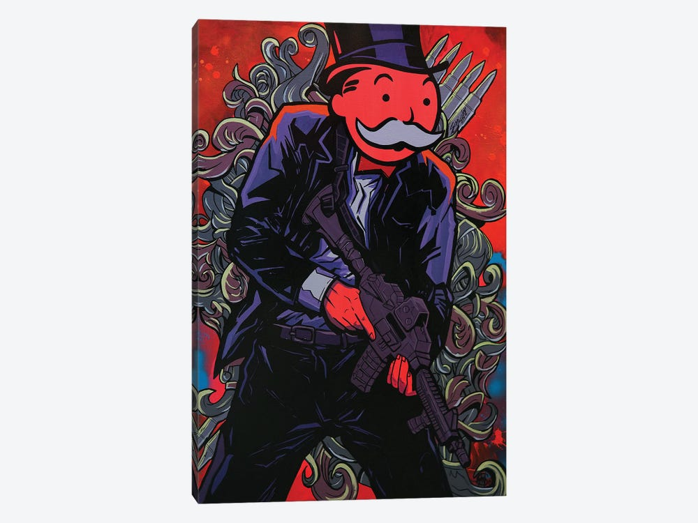 Get The Vault by Sinister Monopoly 1-piece Canvas Artwork