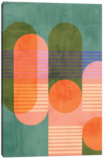 Abstract Color XXXIX Canvas Art Print