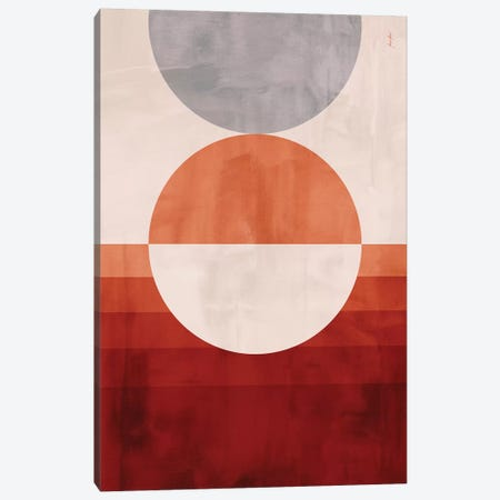 Abstract Color 45 Canvas Print #MNR63} by Marcelo Monreal Art Print