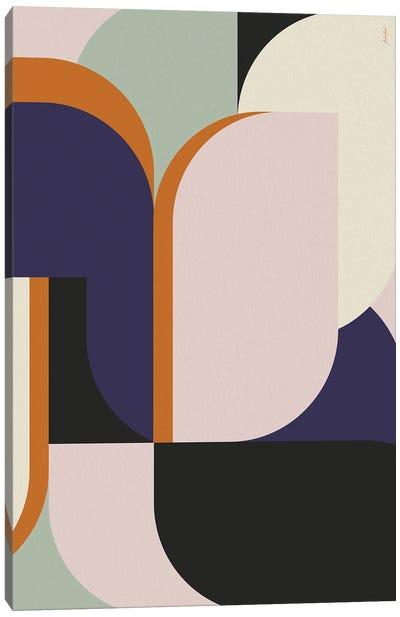 Abstract Color LI Canvas Art Print