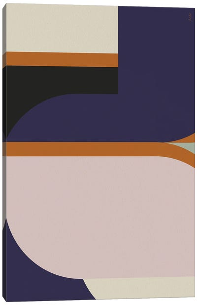 Abstract Color LII Canvas Art Print