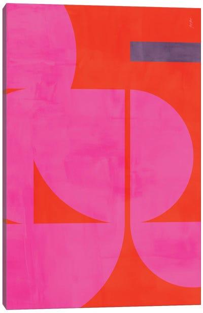 Abstract Color XL Canvas Art Print