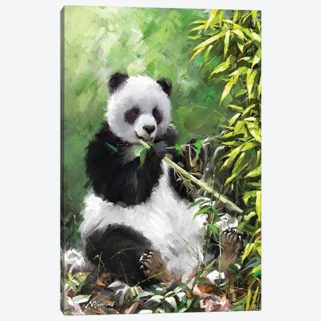 Panda I Canvas Print #MNS111} by The Macneil Studio Canvas Print