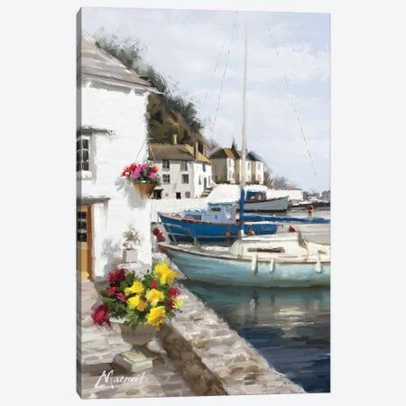 Harbour Wall 3-Piece Canvas #MNS11} by The Macneil Studio Art Print
