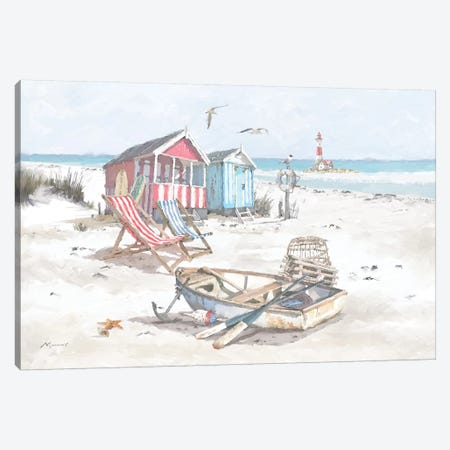 Beach Canvas Print #MNS120} by The Macneil Studio Canvas Artwork
